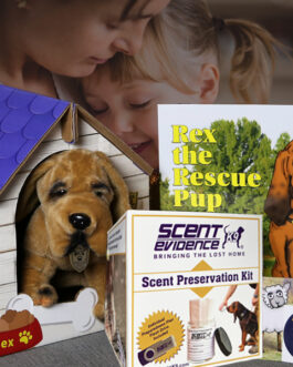 Rex the Rescue Pup Pak by Scent Evidence K9