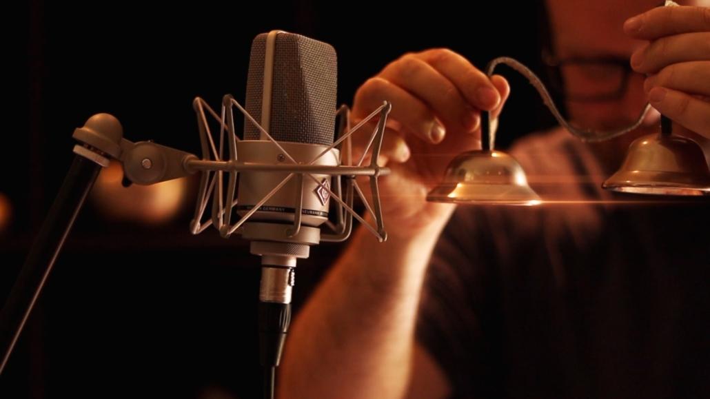 Christopher Recording Tingsha Bells