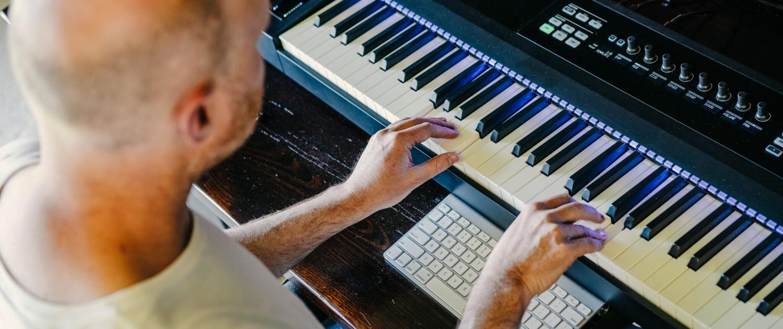 Chris Composing