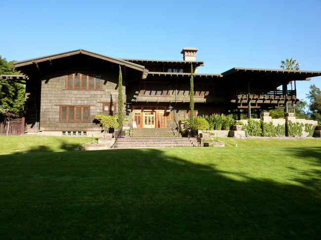 The Gamble House Exterior