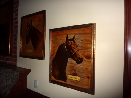 Seabiscuit frame at the derby arcadia, ca