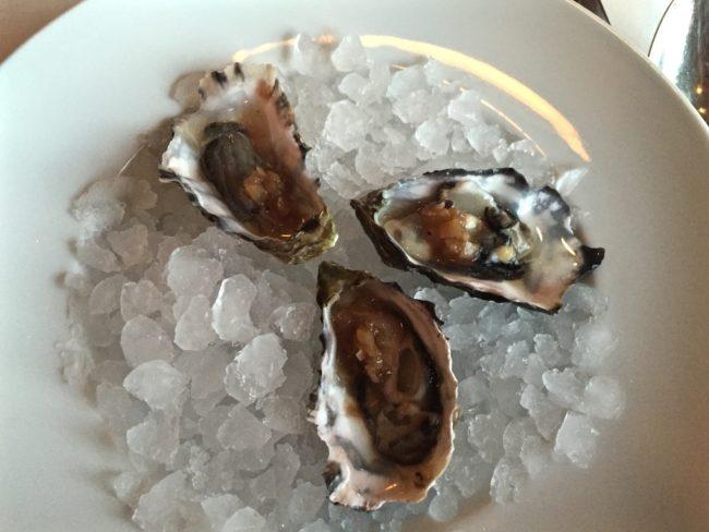Raw Marin Miyagi Oysters