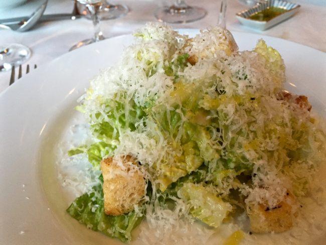 caesar salad terrapin creek cafe restaurant