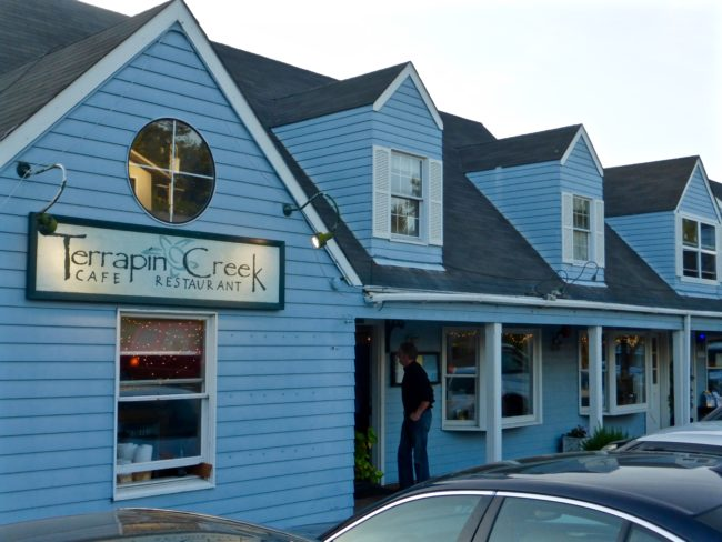Terrapin Creek Cafe Restaurant Bodega Bay, CA Exterior