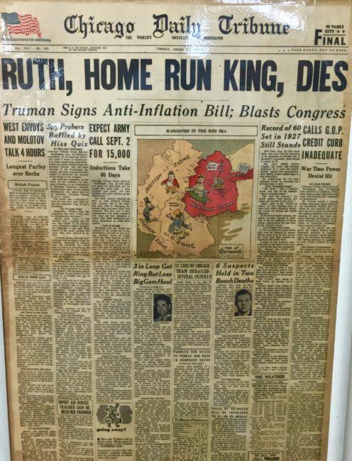 22 Babe Ruth Dies newspaper (1)