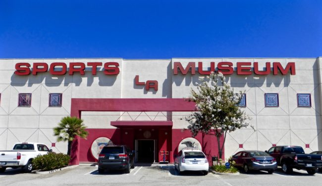 Sports Museum of Los Angeles Outside