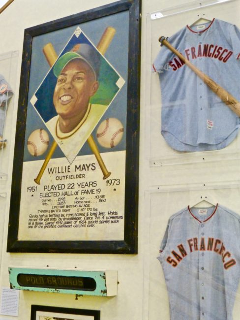 Willie Mays - Sports Museum of Los Angeles