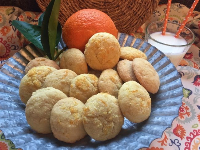 limoncello orange sugar cookies