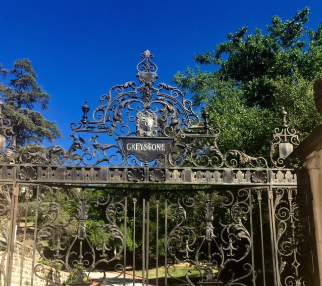 Greystone Mansion and Gardens Beverly Hills