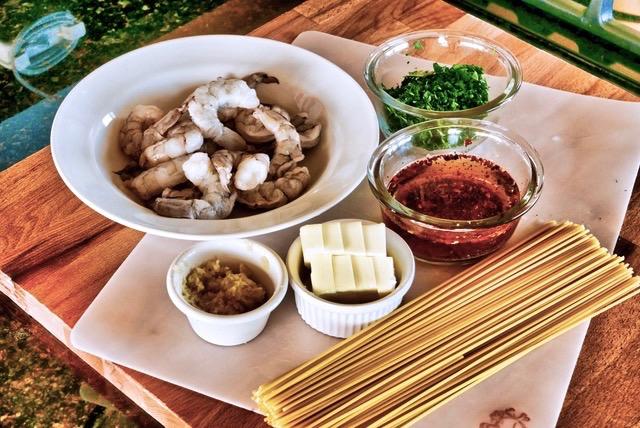shrimp scamp in garlic butter sauce ingredients