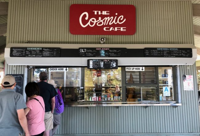 The Cosmic Cafe Mount Wilson Observatory