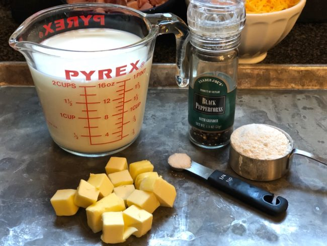 Unsalted Butter for Ham and Cheese Potato Soup