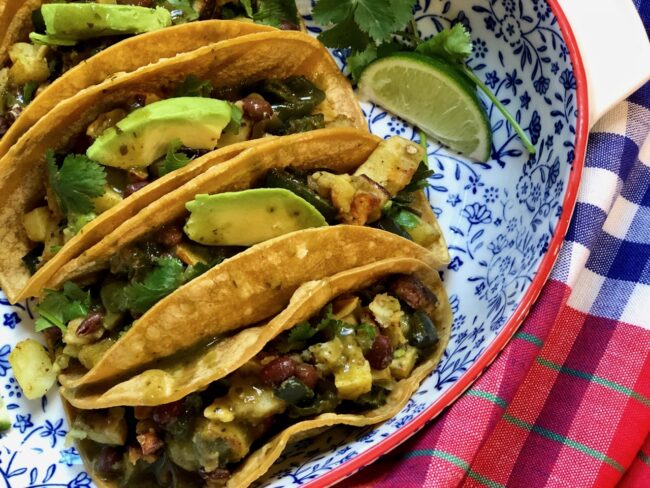 Roasted Sweet Potato Tacos