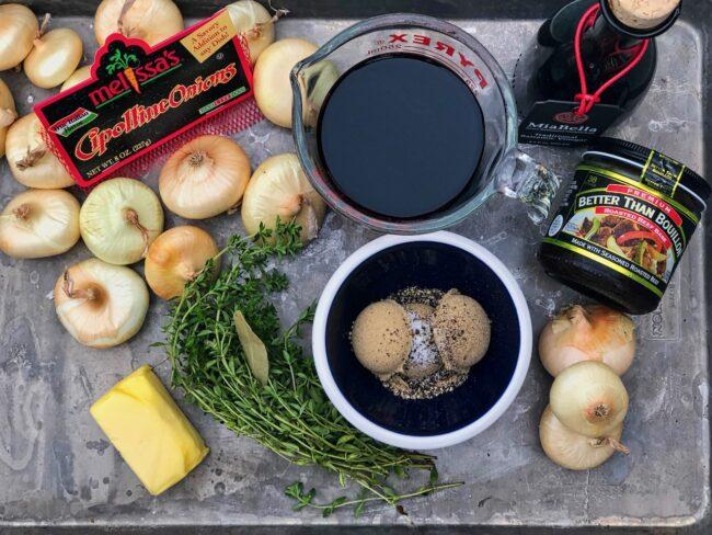 Jamie Purviance's Red Wine Cipollini Onions