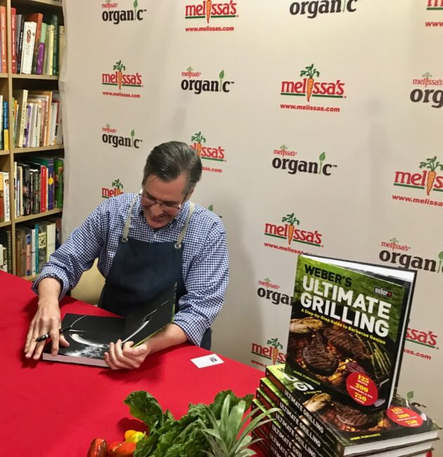 Jamie Purviance, author of WEBER'S ULTIMATE GRILLING: A Step-by-Step Guide to Barbecue Genius!