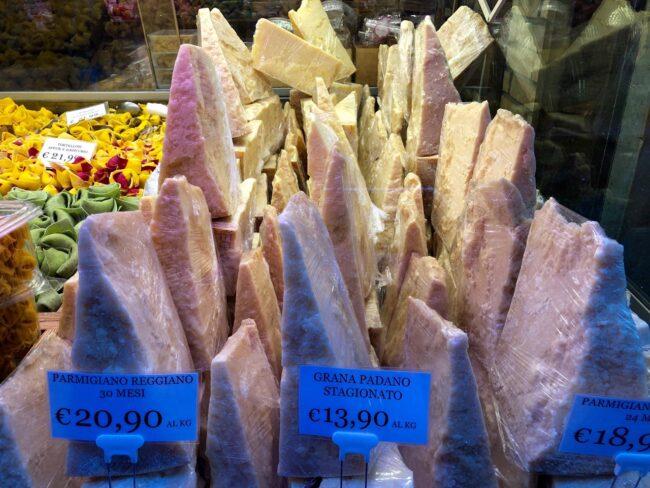 Parmigiano-Reggiano Cheese Blocks