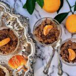chocolate orange mousse