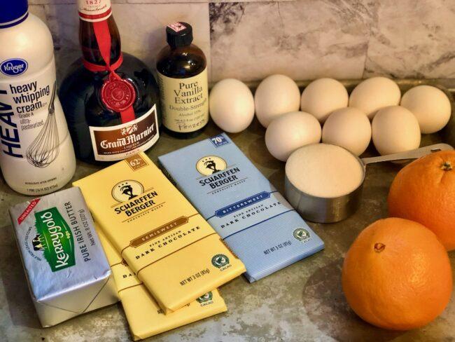 chocolate orange mousse ingredients