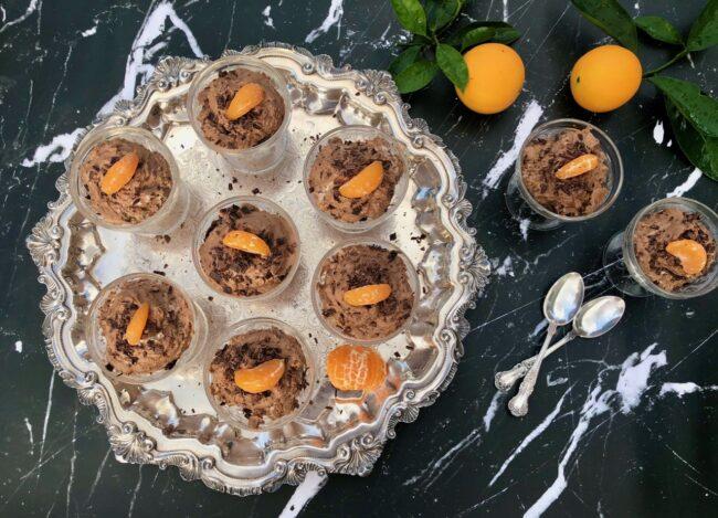 Barefoot Contessa's Chocolate Orange Mousse Servings