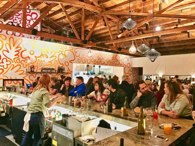 Hippo Highland Park Interior Bar Area