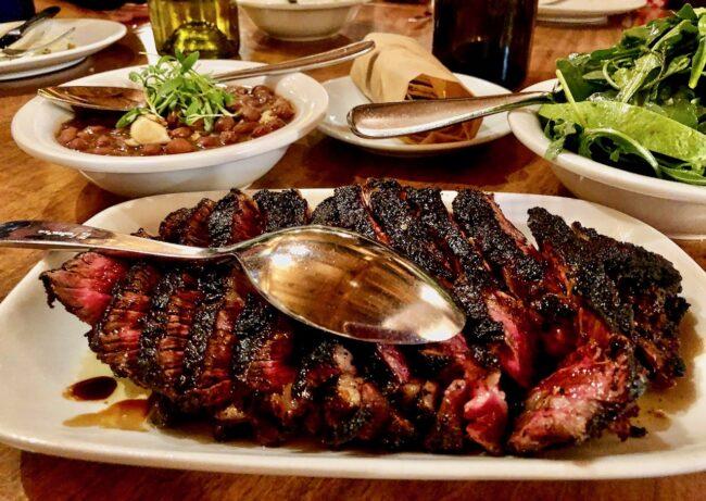 ribeye steak at Hippo Highland Park
