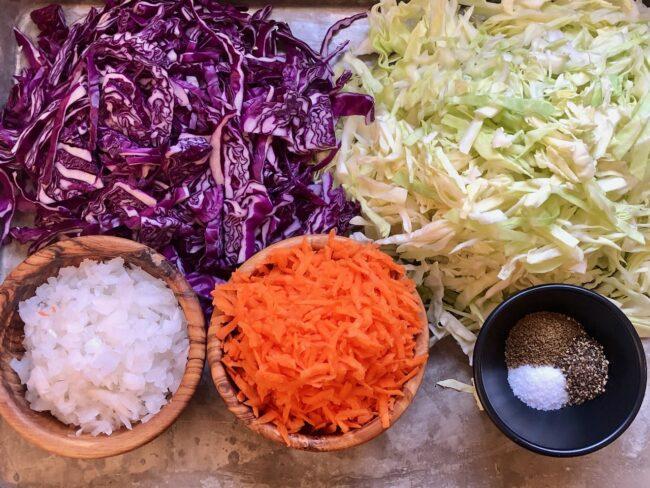 creamy coleslaw fresh ingredients