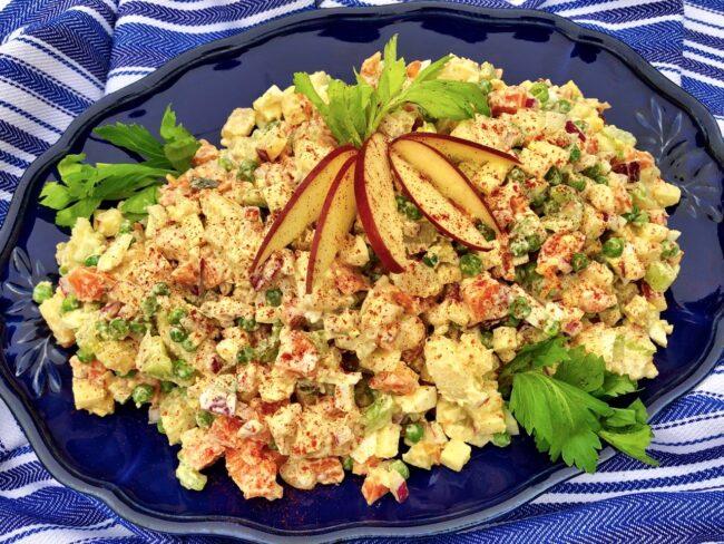 Ania's Polish Potato Salad Ready to Servce