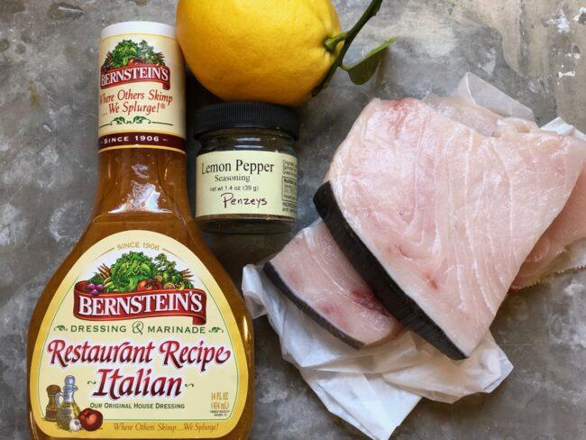 marinated grilled swordfish ingredients