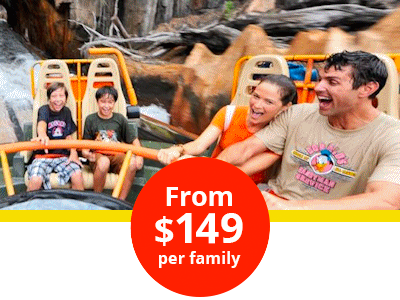 Disney Vacation Package for $149 per family