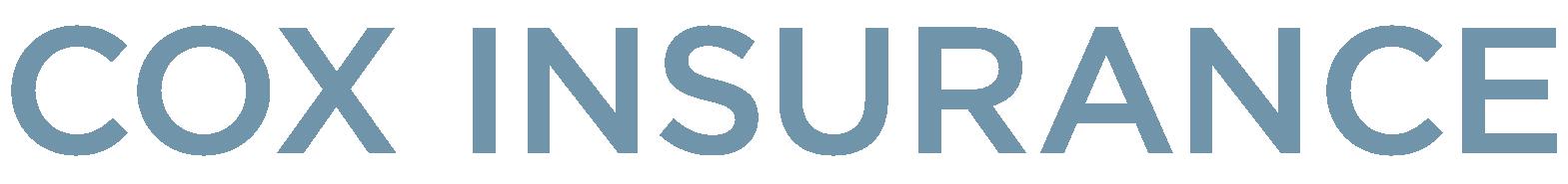 Cox Insurance Text Logo