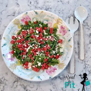 Watermelon Feta & Arugula Salad