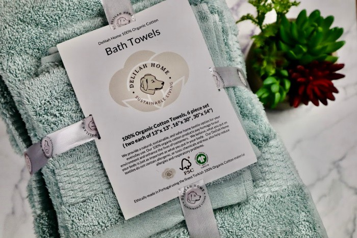 Delilah Home Organic Cotton Towels