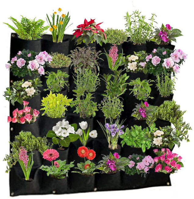 Hanging Outdoor Wall Planters