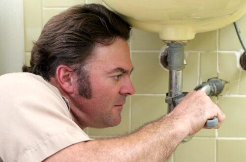 skilled plumber
