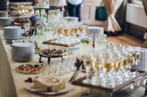 Instagram-worthy Wedding Buffet