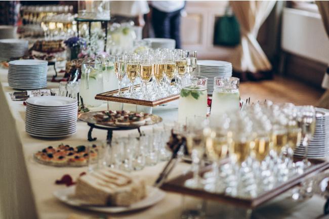 Instagram-worthy Wedding Buffet