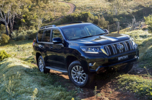 2020 Toyota Land Cruiser Prado