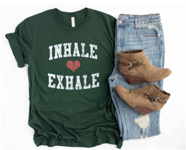 FerrisBuilt Inhale-Exhale Unisex Tee