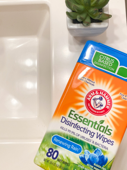 Arm & Hammer Essentials Disinfecting Wipes