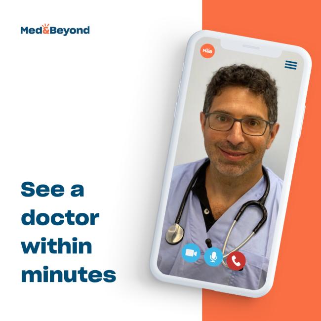 Telehealth doctors visits