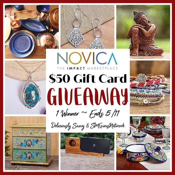 NOVICA Gift Card Giveaway