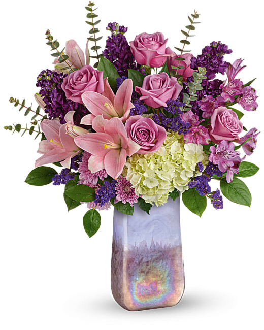 Teleflora's Purple Swirls Bouquet