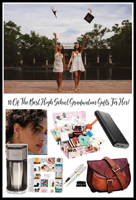 10 of the best high school graduation gifts for her!