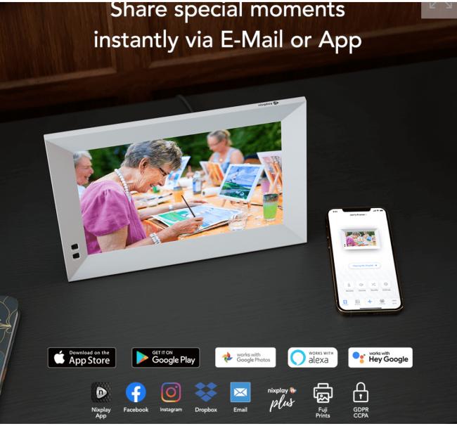 Nixplay Smart Photo Frames