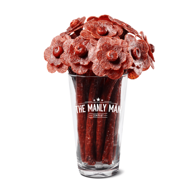 Manly Man Co Beef Jerky Bouquets