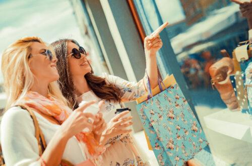 shopping for dresses