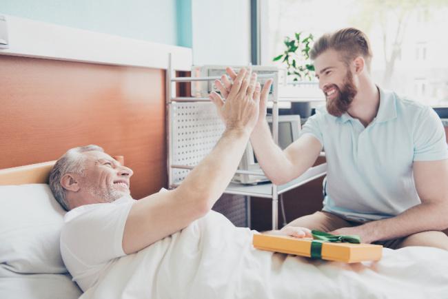 Gifts for hospitalized family member