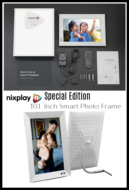 Nixplay Special Edition White Smart Photo Frame