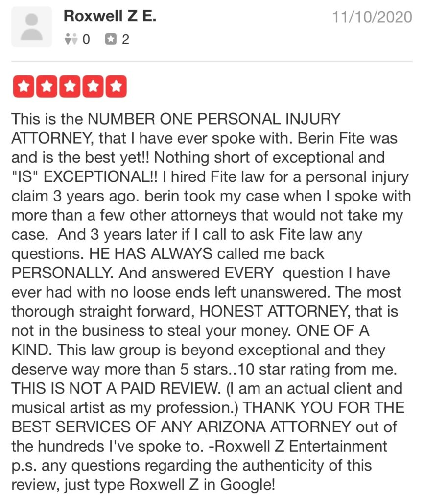 Number One Personal Injury Attorney