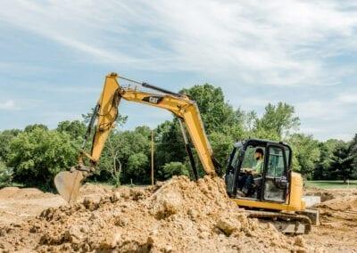 Excavating Services Jackson MI